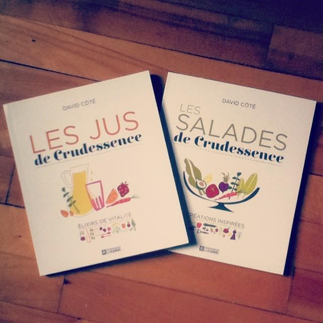 Les jus et les salades, vus par Crudessence
