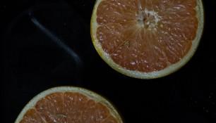 Pamplemousses rôtis au gingembre et romarin